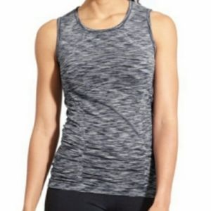 Athleta Breathe Tank Top Gray Size Medium